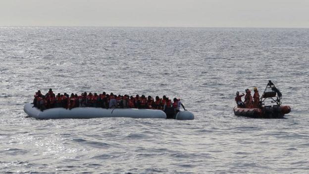 تعداد خردسالانی که از خاورمیانه و شمال آفریقا با قایق به اروپا می آیند رو به افزایش بوده است