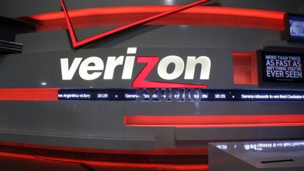 Logo de la empresa Verizon