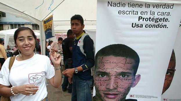 Campaña en Honduras en el año 2006.