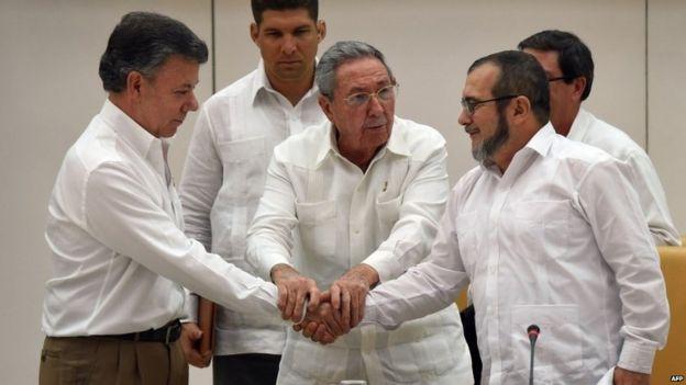 santos FARC ile ilgili görsel sonucu