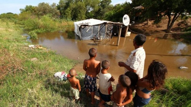 Floods in Chaco province, Argentina