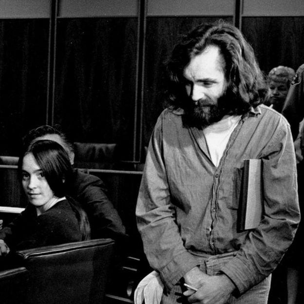 Susan Atkins y Charles Manson