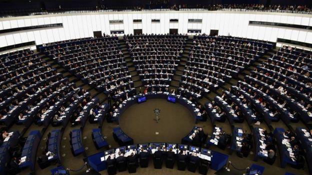 Sessão do Parlamento Europeu