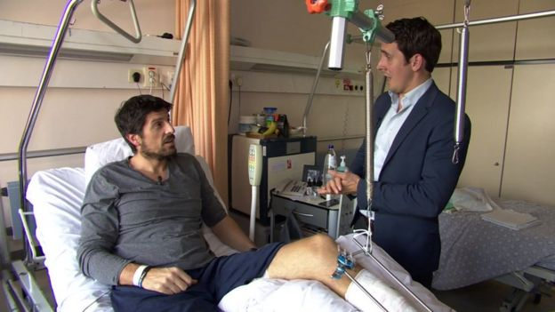 Bellin recovering in hospital