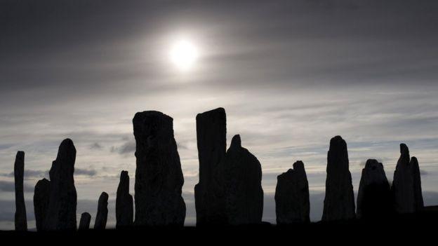 Калланиш - один из самых древних каменных кругов в Великобритании