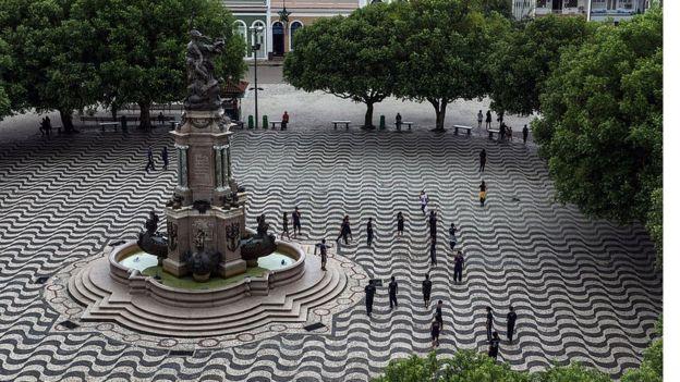 Praça São Sebastião em Manaus