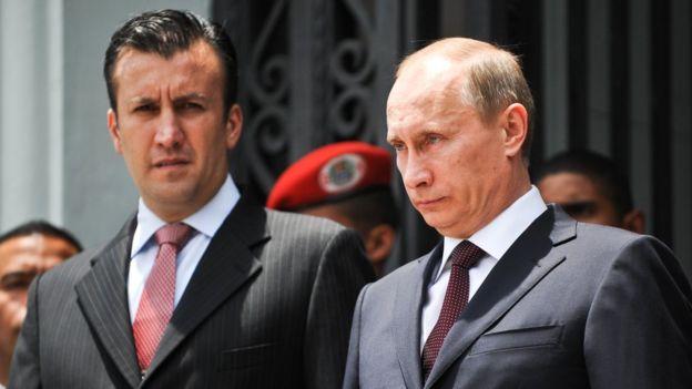 El Aissami con Putin