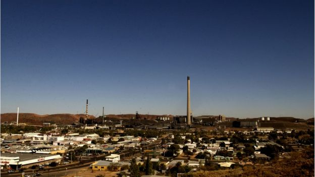 General view of Mount Isa