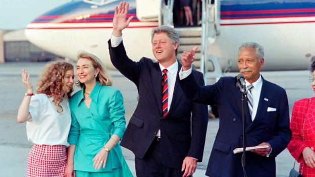 Los Clinton llevan más de treinta años como figuras de la política estadounidense.