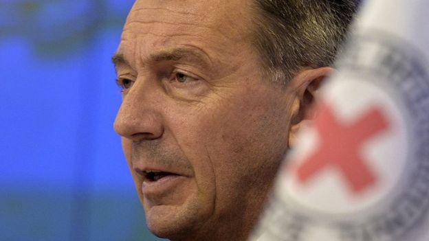 Peter Maurer, presidente do Comitê Internacional da Cruz Vermelha