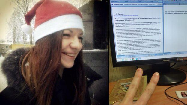 Ольга Мальцева и ее рабочее место