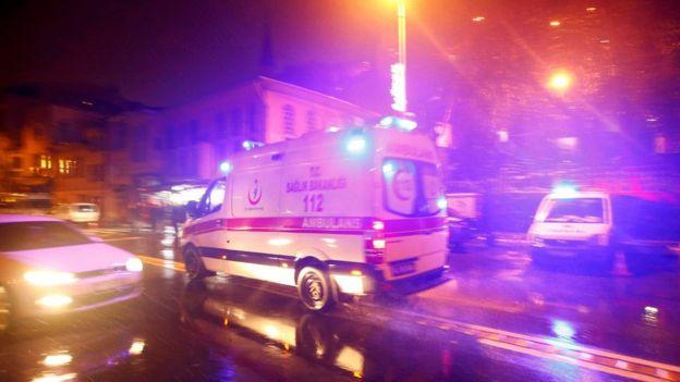 Ambulancia en Estambul