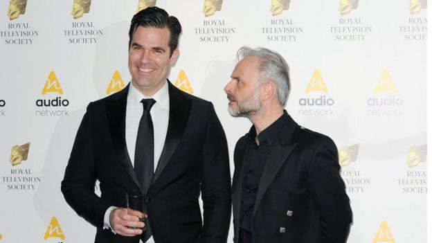 Rob Delaney and Mark Bonnar from Catastrophe