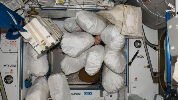 Basura de la ISS