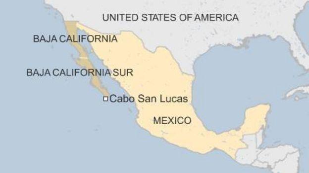 Hurricane Dolores gains strength off Mexicos west coast BBC News – Map of West Coast Mexico