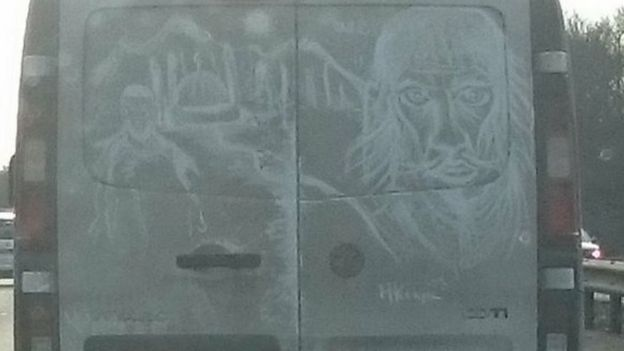 Art on van