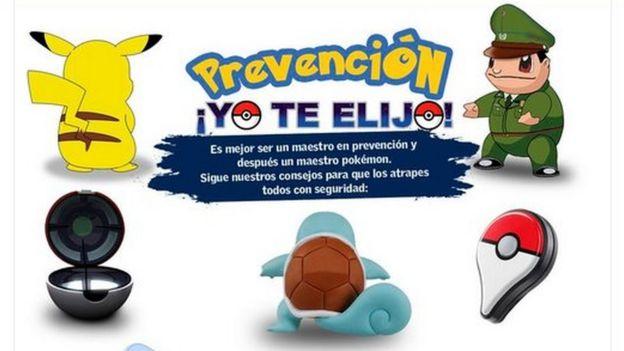Afiche de la campaña de Carabineros de Chile