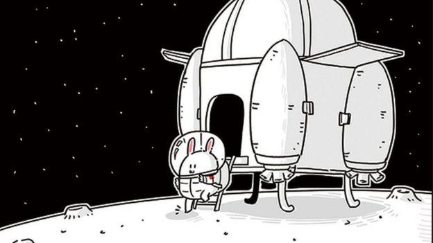Jade Rabbit, taken from its Weibo account