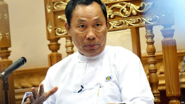 File photo: Shwe Mann, 11 February 2015