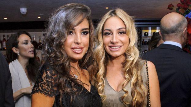 Leyla and Arzu Aliyeva