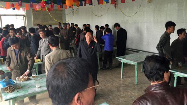 Рабочий бар в Пхеньяне