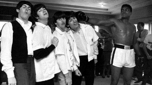 Cassius Clay and the Beatles