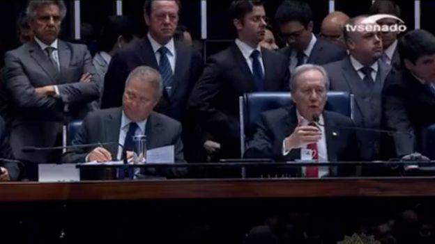 Cúpula del Senado de Brasil.