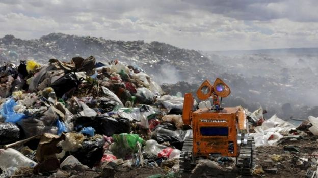 Robot Wall-E de Esteban