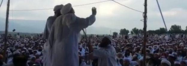 Taliban gathering