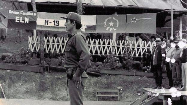 Encuentro de la coordinadora Guerrillera Simón Bolívar