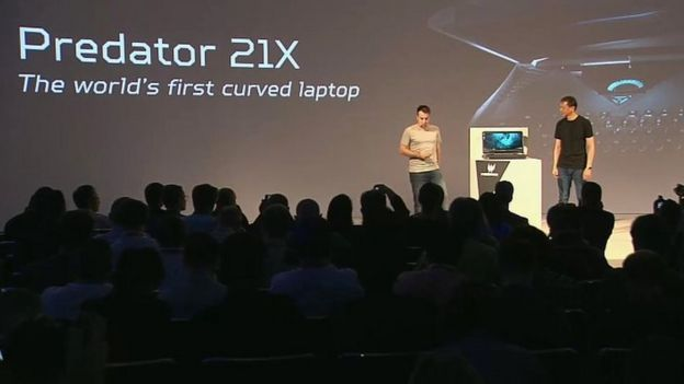 Curved screen Predator laptop unveiled by Acer at Ifa ilicomm Technology Solutions
