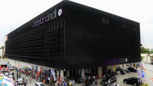 Maryland Mall in Lagos, Nigeria