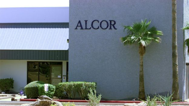 Alcor headquarters in Arizona (file image)