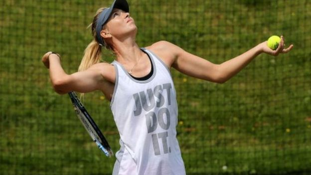 Maria Sharapova has a $70m eight year deal with Nike