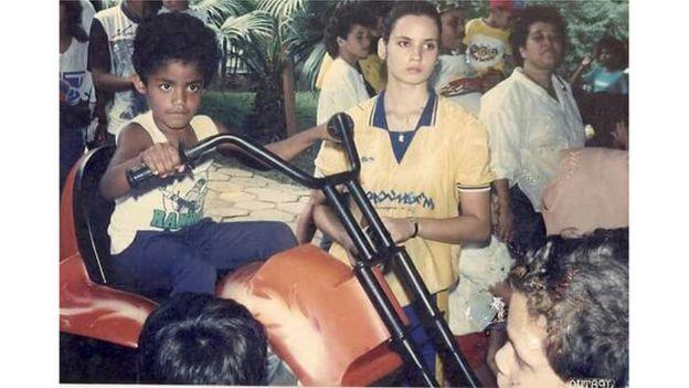 Cleiton Jordão em Cubatão em 1989