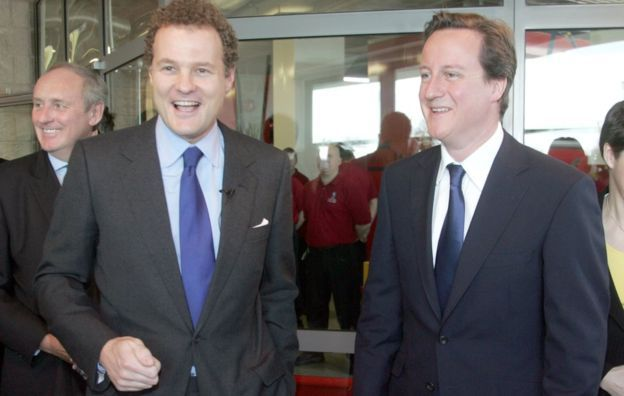 Lord Rothermere ve Cameron