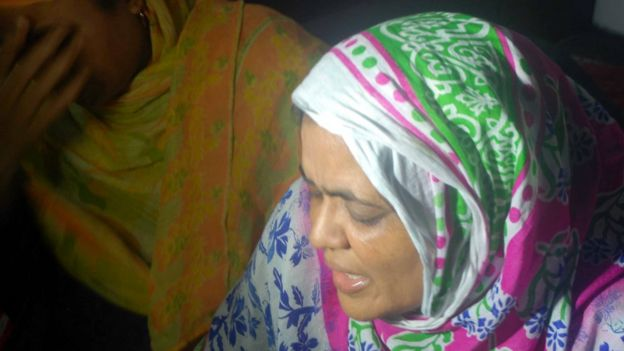 Professor's Siddique's sister mourns after hearing the news of his death