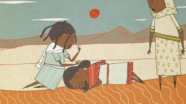 Ruth in the desert