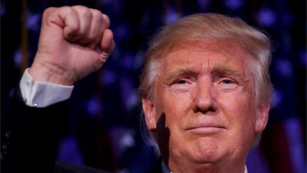 El presidente electo de EE.UU., Donald Trump.