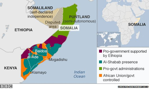 Ideal Ethnic conflict in somalia