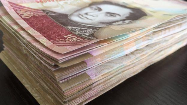 Billetes de 100 bolívares