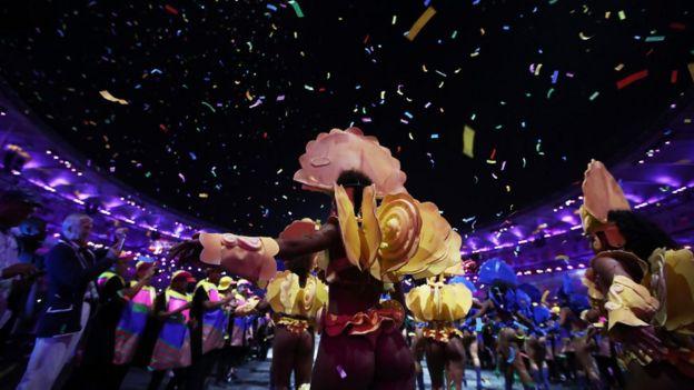 Ceremonia inaugural de Río 2016