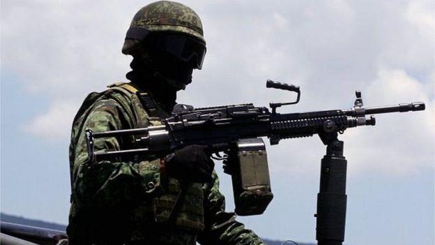 Wanajeshi hupambana na walanguzi wa mihadarati Mexico