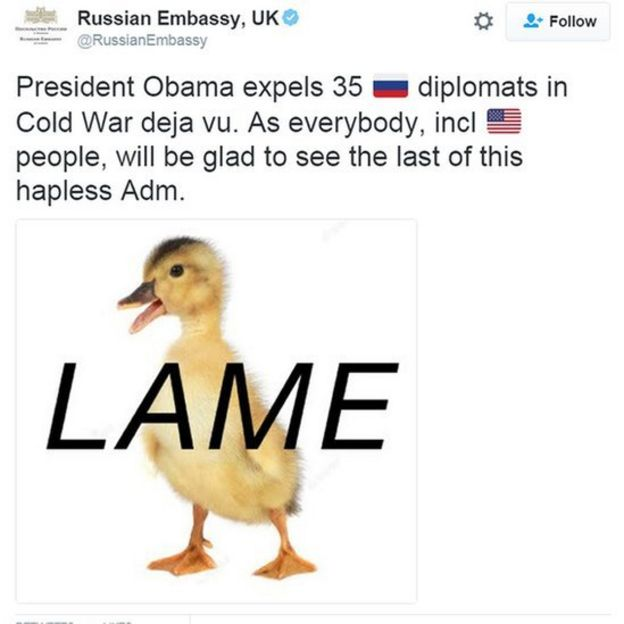 tuíte russo