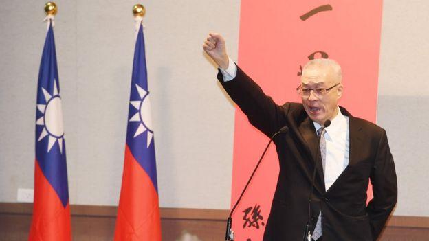 曾任副总统的吴敦义