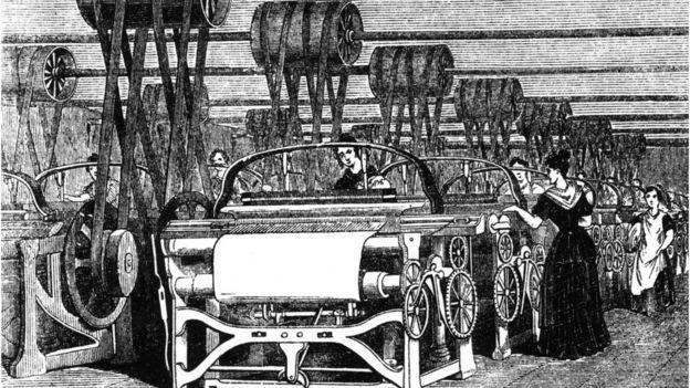 Primera Revolución Industrial, ilustración