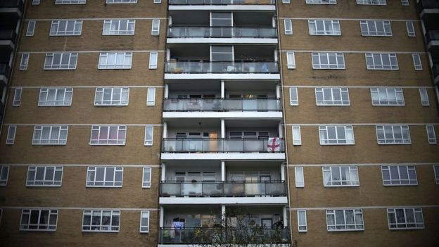 File photo dated 02/01/16 of a housing estate in London.