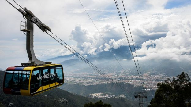 El teleférico de Mérida