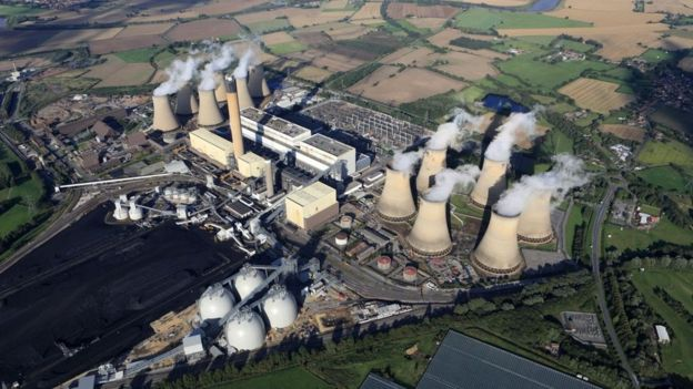 Drax's Selby plant