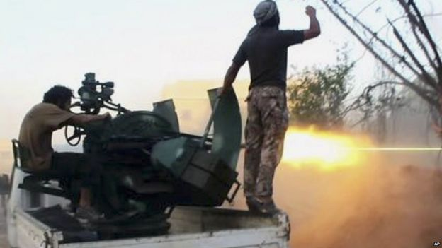 Al-Nusra fighters battle Syrian government forces, in an image released in July 2015 on Twitter-global news-people re-el magazine